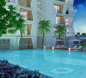 Swimmimg Pool facilities in the 2/3 BHK flats for sale in Rajarhat