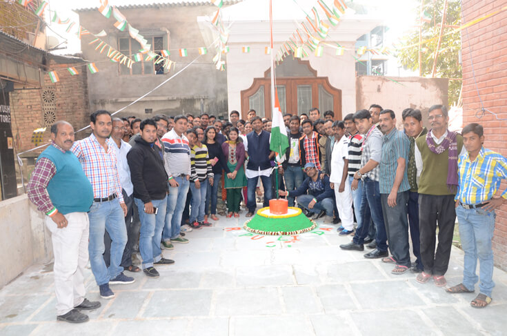 Kochi Kachader sathe realtech er republic day celebration