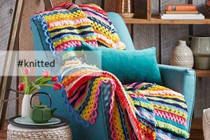 knitted winter furnishings