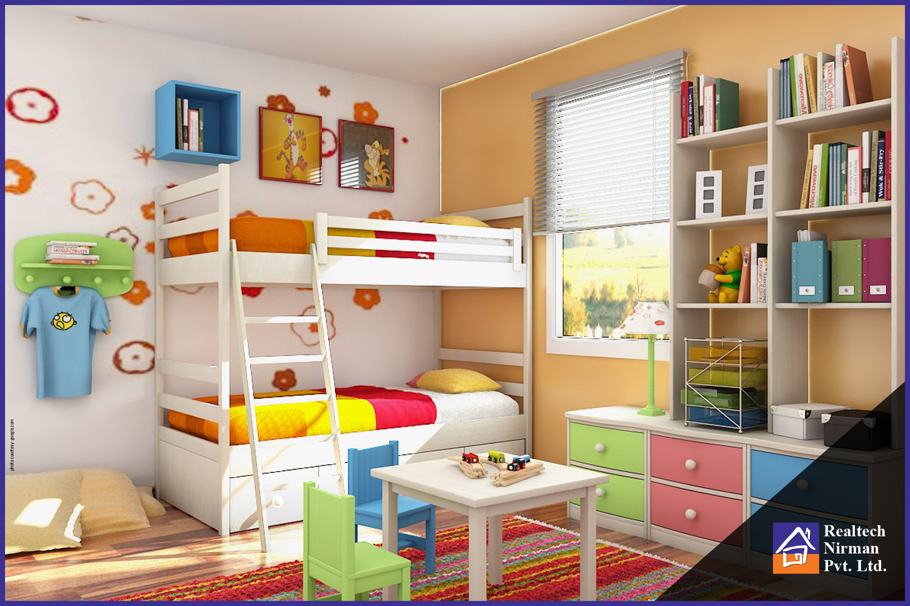 5 Easy Kid S Room Decor Ideas Apartments In Kolkata Realtech Nirman